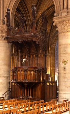 La Chaire de Notre-Dame de Paris