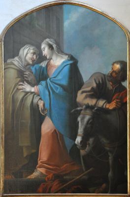 La Visitation, 1754