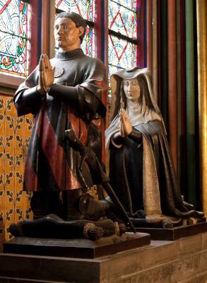 Le mausolée de Jean Juvenal des Ursins et Michelle de Vitry