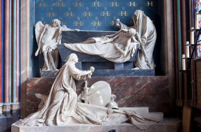 Le mausolée de Claude-Henry compte d'Harcourt