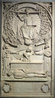 La Pierre tombale d'Etienne Yver