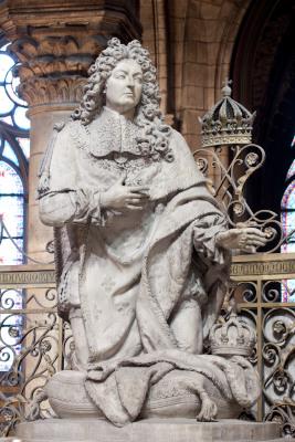 Statue de Louis XIV
